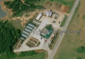 Wilson Bros Nursery Aerial Photo