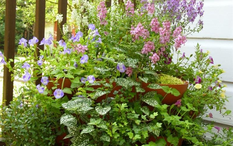 Stack and Grow planter garden