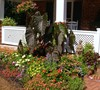 Front porch flowerbed left