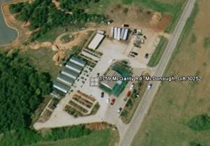 Aerial Photo of Wilson Bros. Nursery