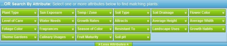 Gardenality Plant Search