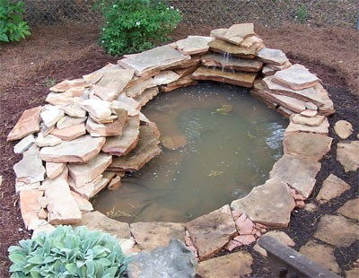 How to build a garden pond for How to build a small lake