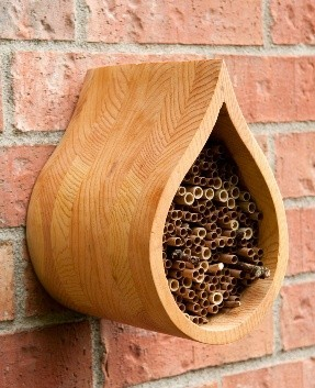 Raindrop mason bee house by Crown Bees