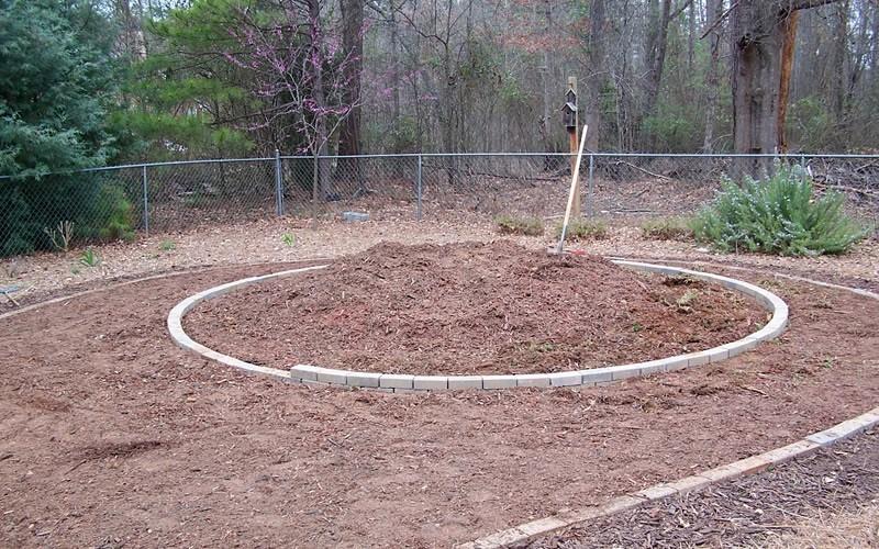 Keyhole Vegetable Garden Picture