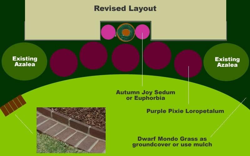 Foundation Planting Design for Jeanne